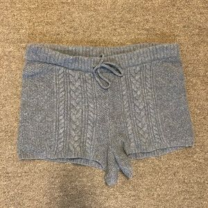 Aerie Gray sweater Shorts